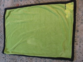 BC Carters Baby Blanket Crocodile Green Blue Plush Alligator Crocodile t... - $44.54