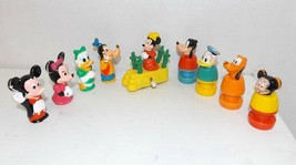 Mixed Lot of Disney Character Figures Mickey - Minnie - Donald {4364} - $9.89