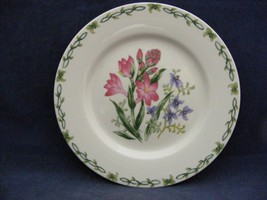"Thomson Floral Garden 7.5"" Salad Plate Pink & Blue Flowers - $9.95"