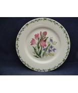 "Thomson Floral Garden 7.5"" Salad Plate Pink & Blue Flowers - $9.95"