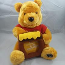 "Winnie the Pooh Plush w/ Brown Honey Pot Picture Frame Disney 11""  FREE ... - $21.95"