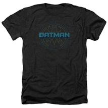 Batman - Bat Tech Logo Adult Heather Officially Licensed T-Shirt Short Sleeve Sh - $20.99+
