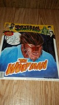 Vintage 1992 Universal Monsters T-Shirt Iron-On Transfer Wolfman - $9.89