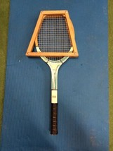 "Vintage Johnny Walker Mark I Tennis Racquet Racket Wooden 4 3/8"" Retro 1... - $24.99"