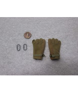 Navy Seal Team 5 VBSS Team Leader GI Rappelling Gloves w/ 2 Clips Parts ... - $11.65