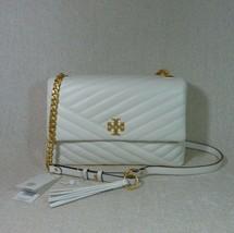 NWT Tory Burch New Ivory Kira Chevron Flap Shoulder Bag $528 - $502.92
