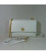 f1684504f536 NWT Tory Burch New Ivory Kira Chevron Flap Shoulder Bag  528 - £383.20 GBP  ...