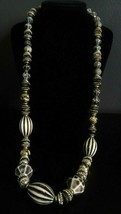 Women's Fashion Black & White assorted designs Beaded Necklace - $12.99