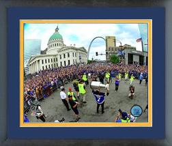 Patrick Marron at St. Louis Blues Stanley Cup® Champions Parade Framed P... - $43.55