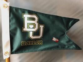 "Baylor Burgee Boat Flag 12X18"" NEW Collegiate BU Baylor  Sic'em Bears go... - $20.79"