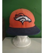 DENVER BRONCOS HAT NEW ERA 59FIFTY FITTED SIZE 7 3/4 NFL FOOTBALL    #11 - $9.49