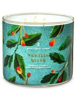 Bath & Body Works Vanilla Birch 3 Wick Scented Candle 14.5 oz - $24.30