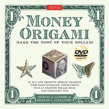Money Origami Kit: Make the Most of Your Dollar: Origami Book with 60 Or... - $17.14