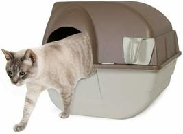 "16.5"" Omega Paw Roll 'n Clean Self Cleaning Litter Box (Regular) - $34.64"