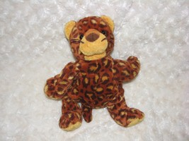 "TY Pluffies POKEY the LEOPARD Plush Baby Cheetah Jaguar lovey soft Tylux 2003 9"" - $9.40"