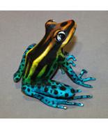 "Bronze Frog Statue Figurine Amphibian Art ""Darcy"" Signed Certificate Of ... - $618.75"