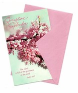 Spring Time Splendor Easter Wishes Vintage Greeting Card - $10.53