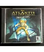 Atlantis: The Lost Empire (Microsoft Windows 95/98/Me, 2001) - $5.86
