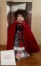Franklin Mint Little Red Riding Hood Doll by Carol Lawson In Box - $34.96