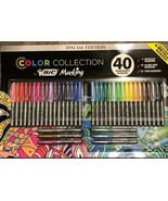 New 40 Permanent Bic Markers 24 Fine Point, 10 Ulta Fine Point & 6 Metallic - $24.18