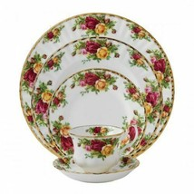 "Royal Albert Old Country Roses 6"" Plates SET/7 Bone Chnina 22KTG Made In Uk New - $559.70"