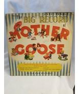 "Vintage 1949 Peter Pan Records Mother Goose 78 #2120 10"" Collectors Album - $24.70"