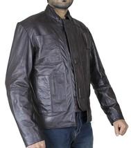 Star Pilot Brown Awakens Han Cosplay Solo Leather Wars Jacket image 2