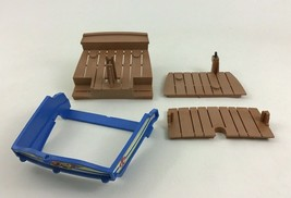 Playmobil 5140 Pirates Redcoat Cannonboat Replacement Ship Deck Pieces P... - $15.99