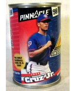 Sealed 1998 Pinnacle Inside 10 Baseball cards in a Can with Jose Cruz Jr... - $8.90