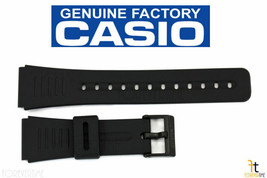 CASIO DBC-150 22mm Original Black Rubber Watch BAND DBC-310 DBC-81 DBC-W150 - €15,05 EUR