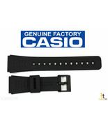 CASIO DBC-150 22mm Original Black Rubber Watch BAND DBC-310 DBC-81 DBC-W150 - $17.95