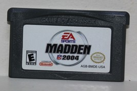 Madden NFL Football 2004 Gameboy Advance Nintendo EA Sports - $7.08