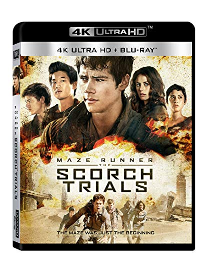 The Maze Runner: The Scorch Trials (4K Ultra HD + Blu-ray)