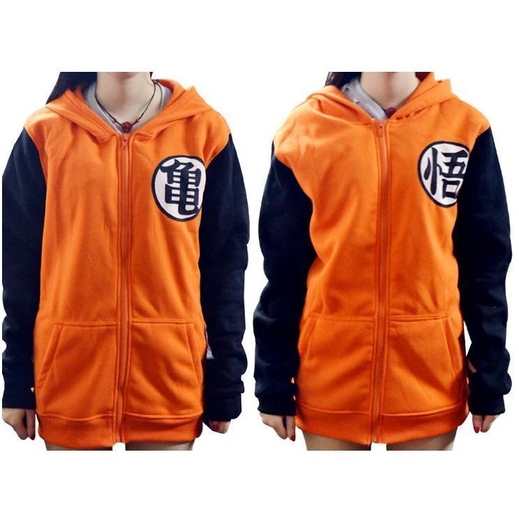 7fa97ada Hoodies dragon ball z kame symbol orange long sleeves hoodie cosplay  costume 1