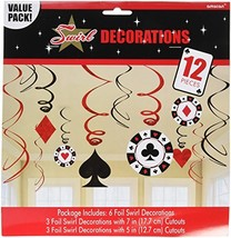 Casino Value Pack Party Swirl Decorating Kit - $12.86