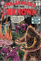 Challengers of the Unknown Comic Book #27, DC Comics 1962 VERY FINE- - $52.17