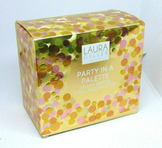 LAURA GELLER PARTY IN A PALETTE Deluxe Ed 5 Full Face Palettes NIB - $64.35