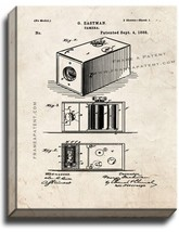 Eastman Camera Patent Print Old Look on Canvas - $39.95+