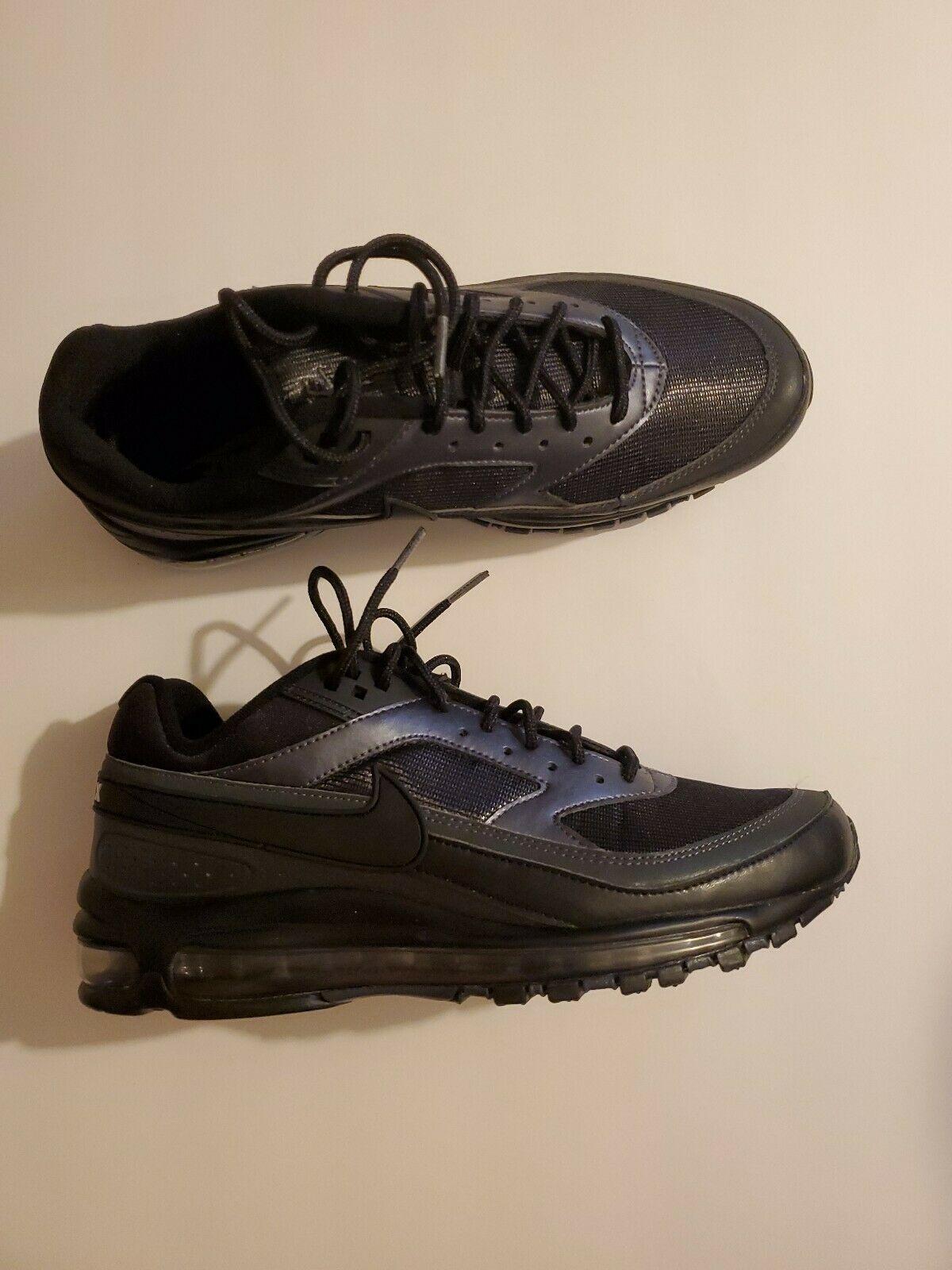 Nike Air Max 97/BW Running Shoes Black Metallic Hematite Men's Sz 7 AO2406-001 image 2