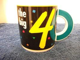 NEW - OH NO! THE BIG 40 CERAMIC PAPEL COFFEE MUG - $4.99