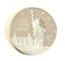 1986 S ELLIS ISLAND COMMEMORATIVE SILVER $1 PROOF # 200185 - $31.68