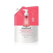Method Foaming Hand Soap Refill, Pink Grapefruit, 28 Fl. Oz Pack of 1 - $42.39