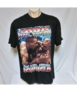 VTG Mike Tyson Rap Tee T Shirt Double Sided Holyfield 90s Original Hip H... - $339.99