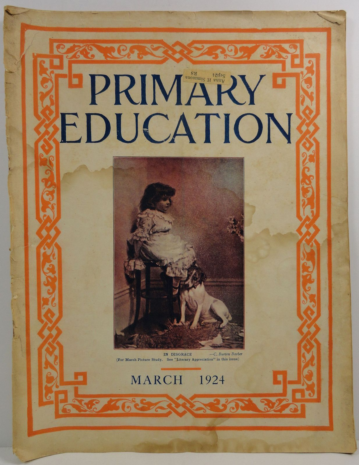 Primary Education Magazine March 1924