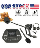 Deep Sensitivity Metal Detector Shovel Headphone Kits 2 Modes Waterproof... - $105.10