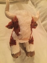 Build A Bear University of Texas Longhorn bull steer Bevo mascot plush NCAA - $50.99