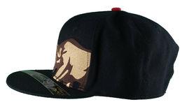 Dissizit! Side Bear Black Snapback Cap Hat California Star Flag image 5