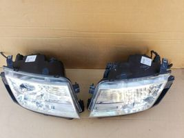 07-10 Lincoln MKX Halogen W/ AFS Headlight Lamp Set L&R  - POLISHED image 5