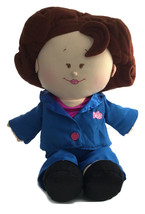 "Rosie O'Donnell Talking Celebrity Plush Doll 18"" Tyco - Tested and Works - $13.85"