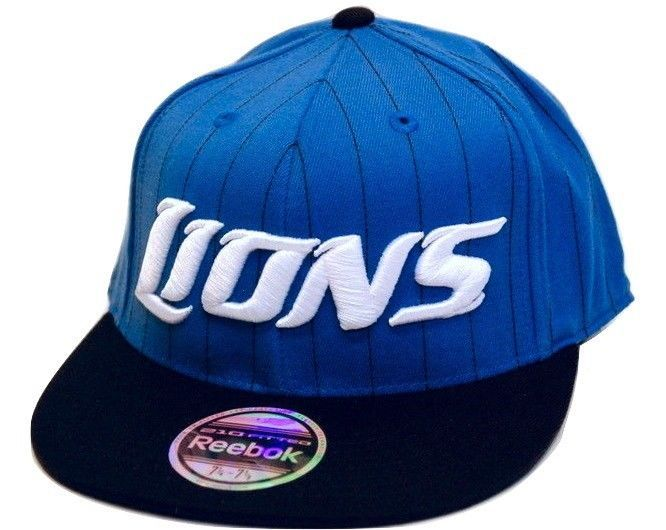 0440c256 Detroit Lions Reebok NFL Football 210 Fitted and similar items